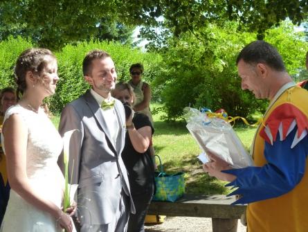 Marcel heiratet seine Marion