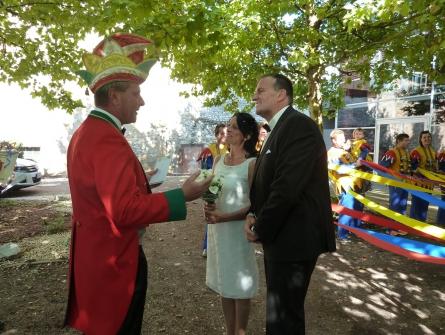 Bertram heiratet seine Claudia